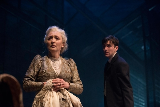 <p>Matthew Beard as Edmund Tyrone and Lesley Manville as Mary Tyrone in <em>Long Day&#39&#x3B;s Journey Into Night</em></p><br />© Hugo Glendinning