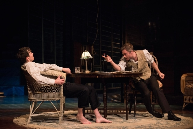 <p>Matthew Beard as Edmund Tyrone and Rory Keenan James as Tyrone Jr in <em>Long Day&#39&#x3B;s Journey Into Night</em></p><br />© Hugo Glendinning