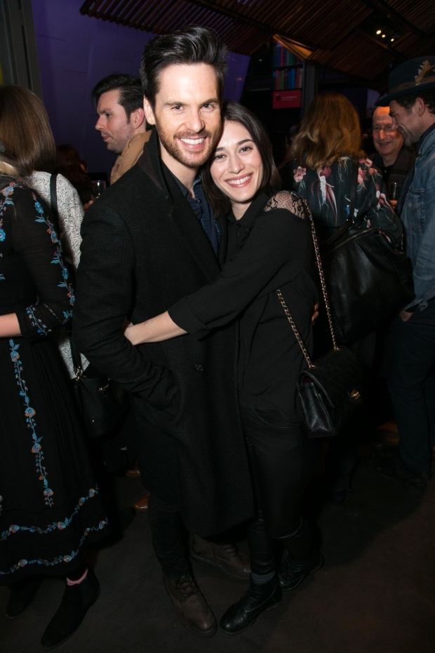 <p>Tom Riley (Seth) and Lizzy Caplan</p><br />© Dan Wooller for WhatsOnStage