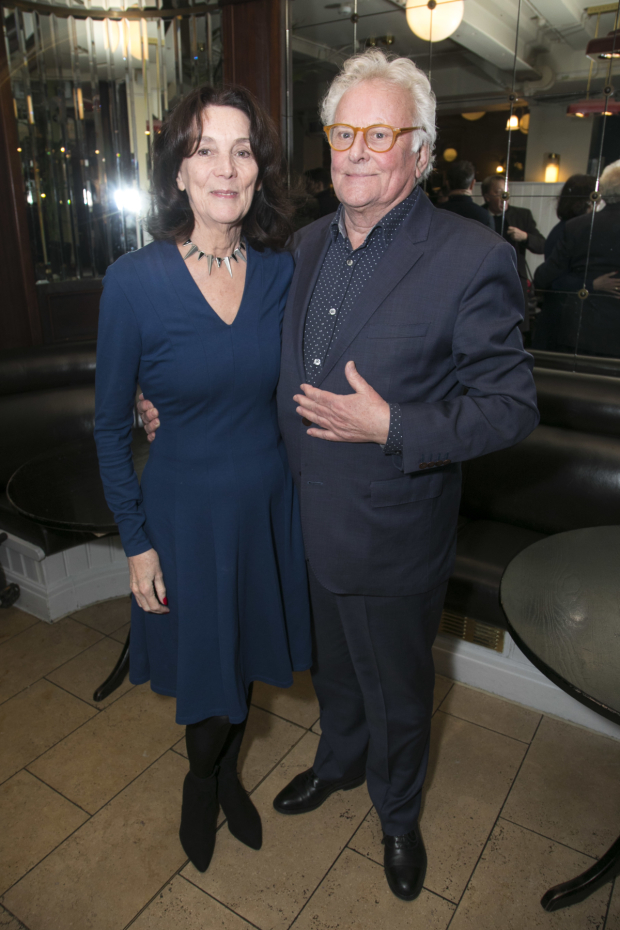 <p>Sue Birtwistle and Richard Eyre</p><br />© Dan Wooller for WhatsOnStage