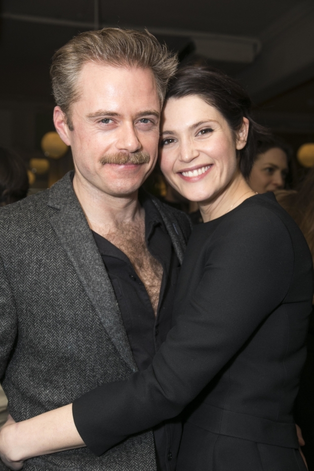 <p>Rory Keenan and Gemma Arterton</p><br />© Dan Wooller for WhatsOnStage