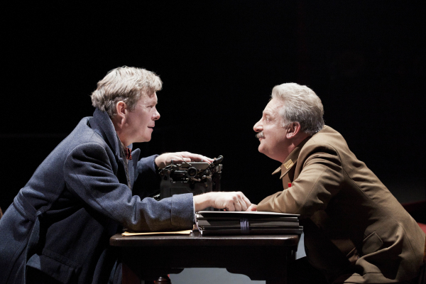 <p>2011: Alex Jennings and Simon Russell Beale in <em>Collaborators</em></p><br />© Johan Persson