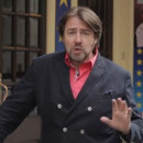 Video: Jonathan Ross rolls along to Merrily in the West End