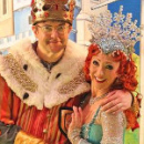 Joe Pasquale stars as King Arthur in West End Spamalot