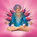 Dame Edna and Barry Humphries say farewell with Eat Pray Laugh! at Palladium
