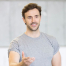 Rehearsal Pics: Michael Xavier and Charlotte Wakefield in Open Air Sound of Music