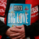 Theatreland gives a hand up to The Big Issue Foundation, official charity of the WhatsOnStage Awards