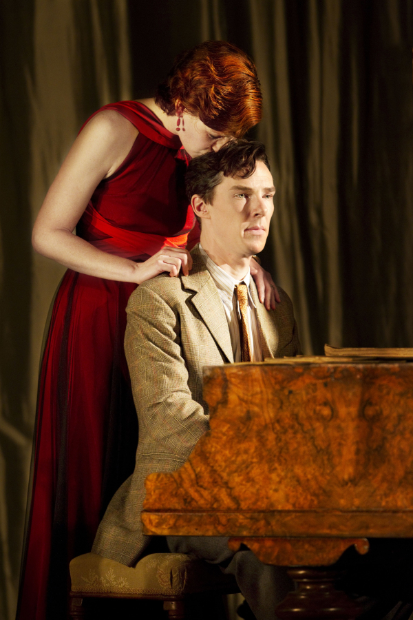 <p>2010: Nancy Carroll and Benedict Cumberbatch in <em>After the Dance</em></p><br />© Johan Persson