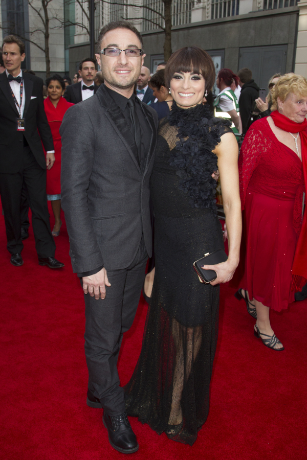 <p><em>Strictly</em> stars Vincent Simone and Flavia Cacace</p><br />© Dan Wooller