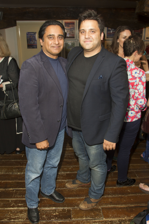 <p>Sanjeev Bhaskar and Nathan Amzi</p><br />© Dan Wooller for WhatsOnStage