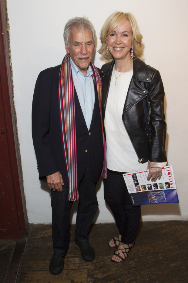 <p>Burt Bacharach and Sally Greene</p><br />© Dan Wooller for WhatsOnStage