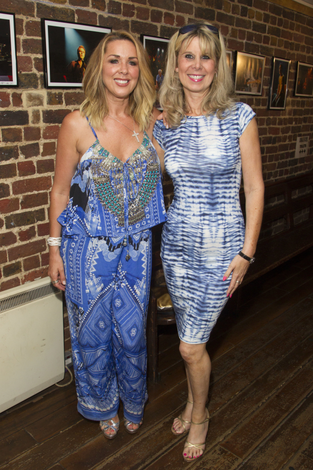 <p>Claire Sweeney and Julia Engleman</p><br />© Dan Wooller for WhatsOnStage
