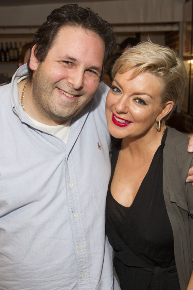 <p>David Babani (artistic director) and Sheridan Smith</p><br />© Dan Wooller for WhatsOnStage