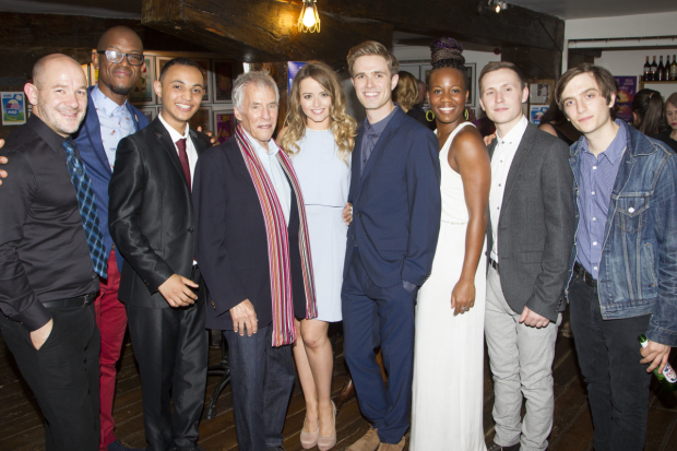 <p>Steven Hoggett (director), James Williams (cast) Renato Paris (cast), Burt Bacharach (music), Stephanie McKeon (cast), Kyle Riabko (cast), Anastacia McCleskey (cast), Greg Coulson (cast) and Daniel Ballen (cast)</p><br />© Dan Wooller for WhatsOnStage