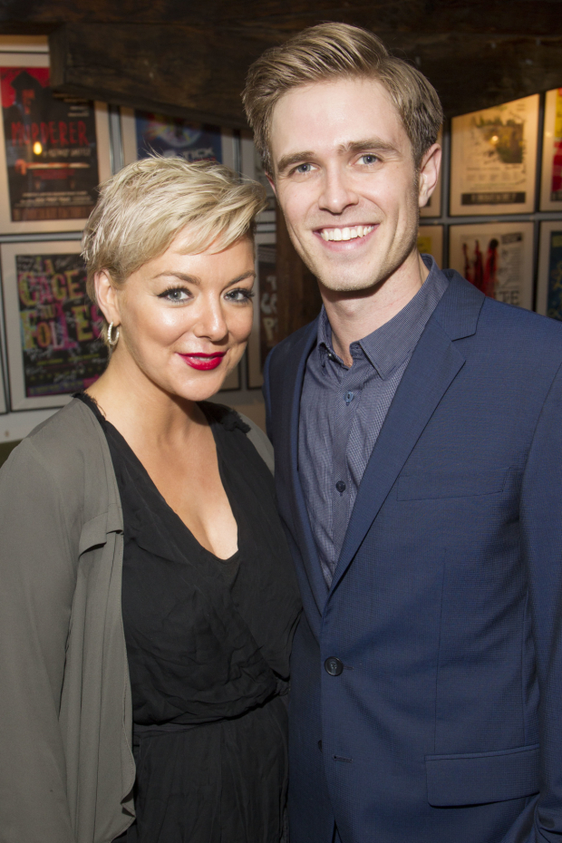 <p>Sheridan Smith and Kyle Riabko (cast)</p><br />© Dan Wooller for WhatsOnStage