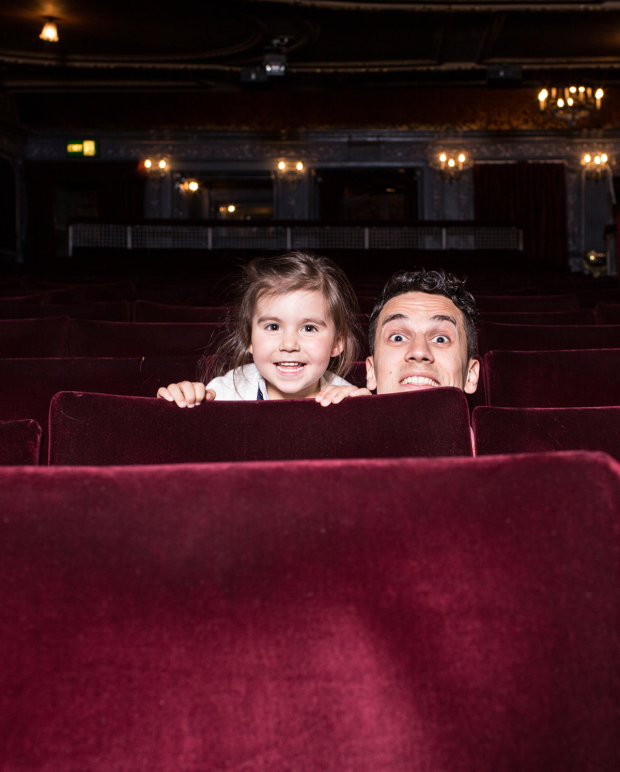 <p>Aaron Sidwell with daughter Isla</p><br />© Darren Bell