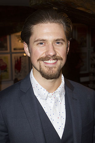 <p>Aaron Tveit (John Wilkes Booth)</p><br />© Dan Wooller for WhatsOnStage