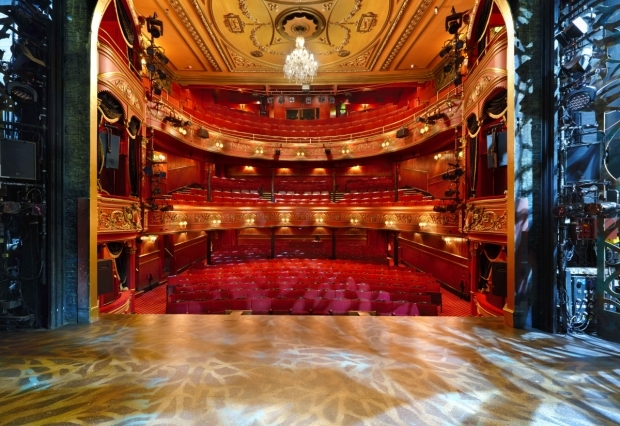 <p>Actor&#39&#x3B;s view from the stage at Theatre Royal Stratford East</p><br />© Peter Dazeley