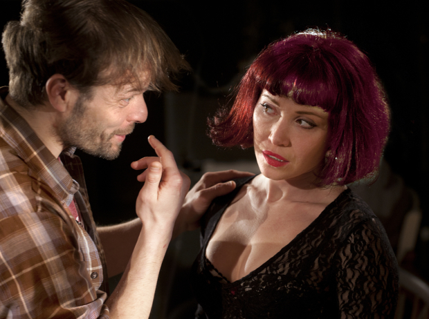 <p>Alec Newman and Daisy Lewis in <em>Bug</em></p><br />© Simon Annand