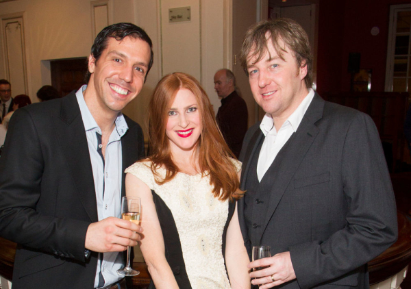 <p>Alex Gaumond (Beadle Bamford), Rosalie Craig (Beggar Woman) and John Owen-Jones (Pirelli)</p><br />Dan Wooller