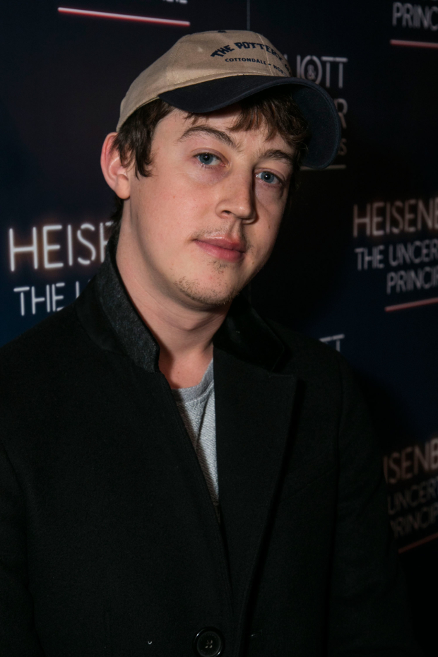 <p>Alex Sharp</p><br />© Dan Wooller for WhatsOnStage