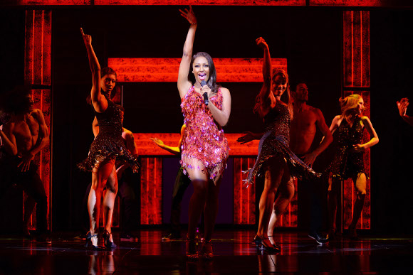 <p>Alexandra Burke as Rachel Marron</p><br />© Alessandro Pinna