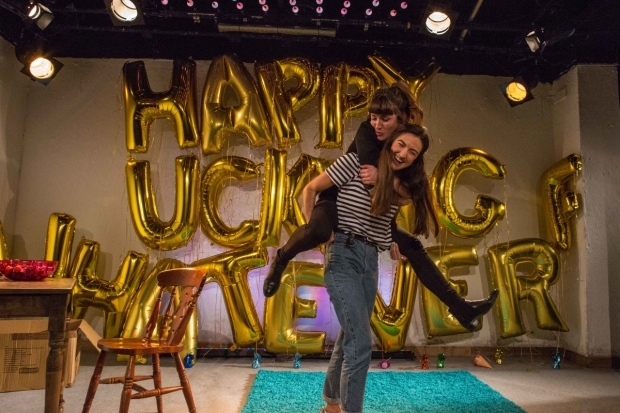 <p>Alexandra Reynolds and Louise Beresford in <em>Lobster</em></p><br />© Ali Wright