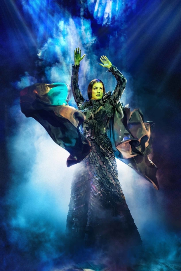 <p>Alice Fearn as Elphaba</p><br />© Matt Crockett