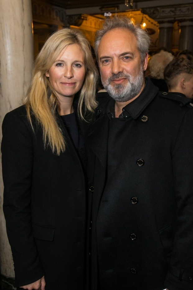 <p>Alison Balsom and Sam Mendes</p><br />© Dan Wooller for WhatsOnStage