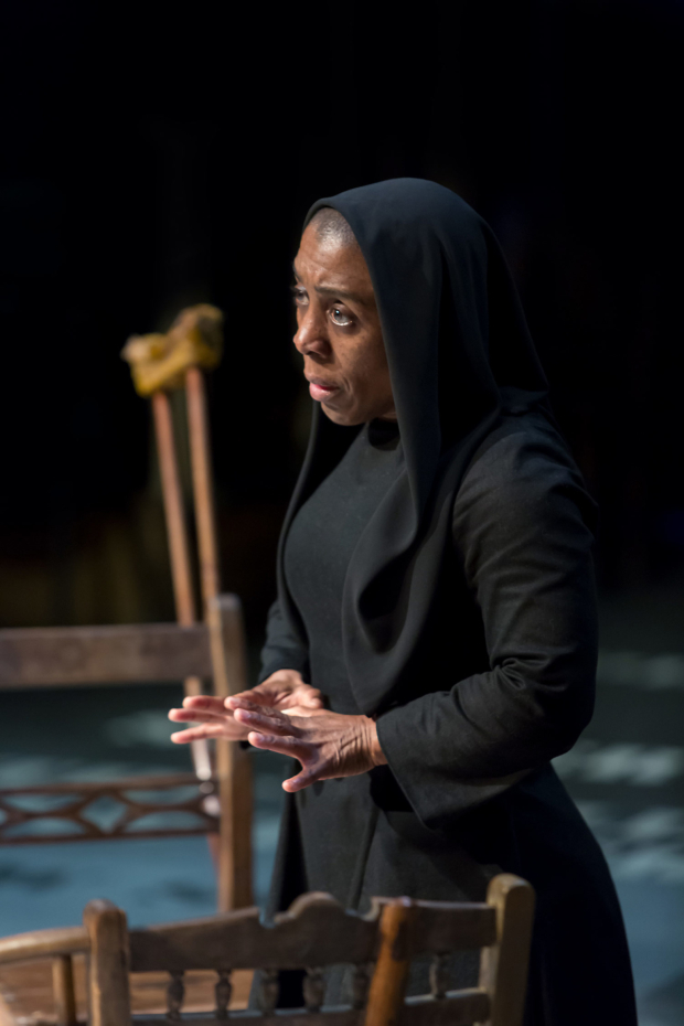 <p>Alison Halstead in <em>The House of Bernarda Alba</em></p><br />© Jonathan Keenan