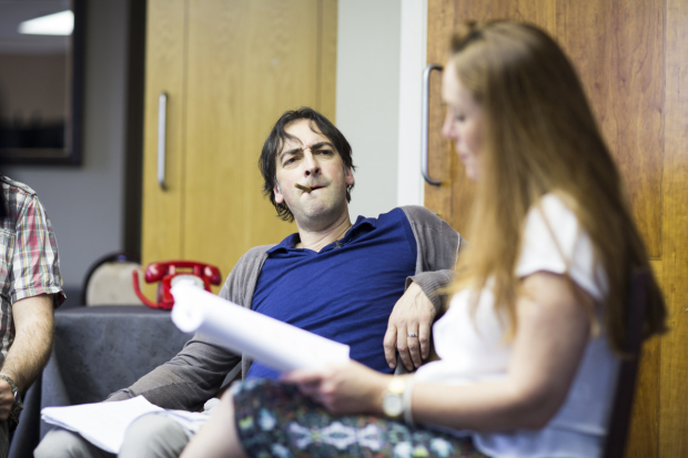 <p>Alistair McGowan and Charlotte Page</p><br />Helen Maybanks
