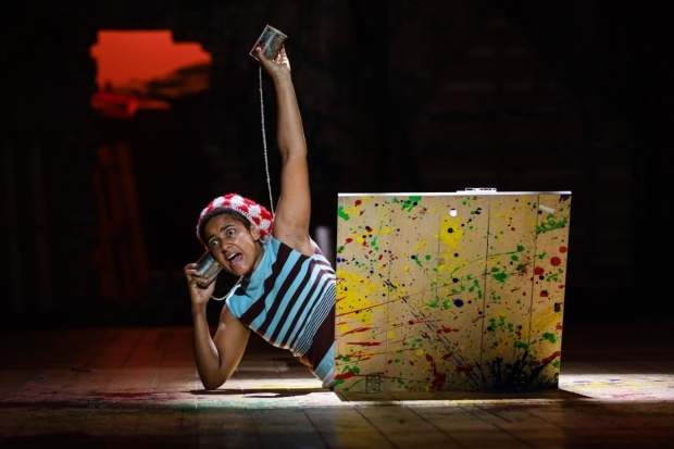 <p>Amaka Okafor as Nibs in <em>Peter Pan</em></p><br />© Steve Tanner