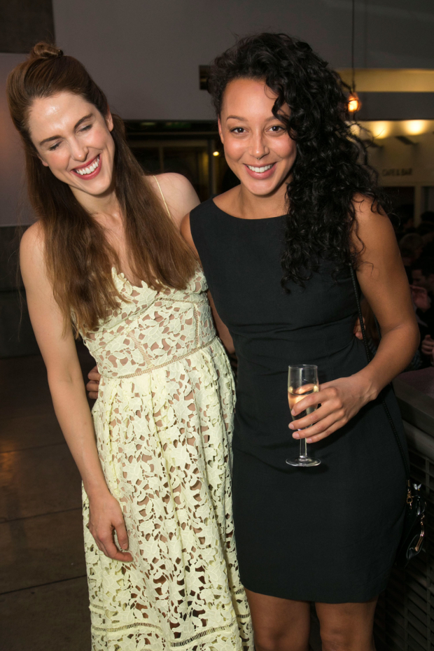 <p>Amanda Hale (Sheila/Kate) and Adelle Leonce (Tracey)</p><br />© Dan Wooller