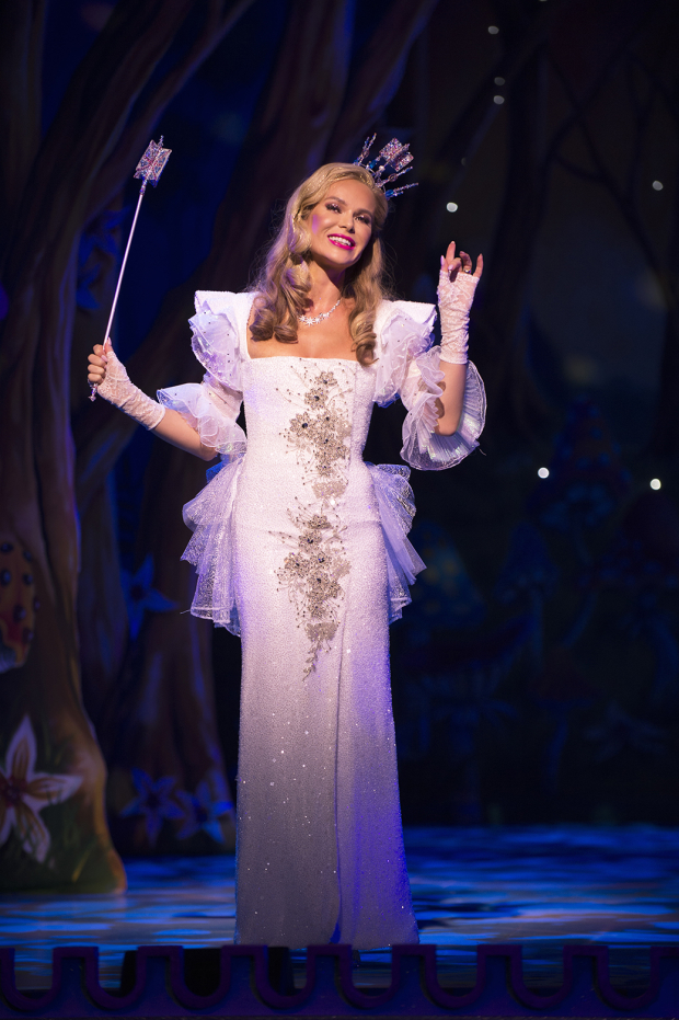 <p>Amanda Holden (The Fairy Godmother)</p><br />© Paul Coltas & Steve Williams