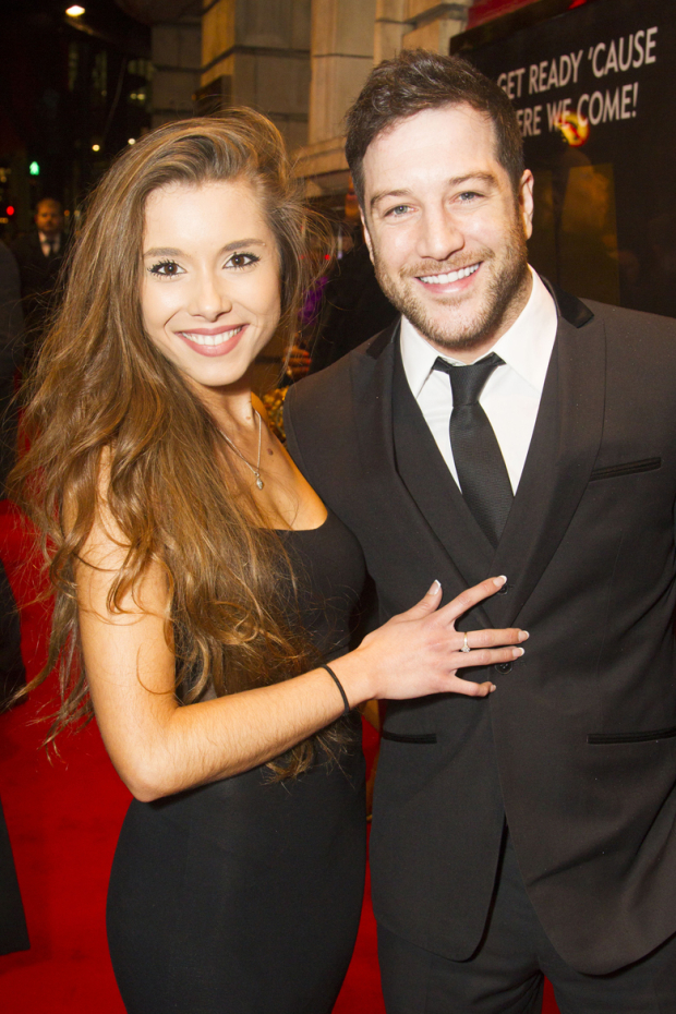 <p>Amber Hernaman and Matt Cardle</p><br />© Dan Wooller for WhatsOnStage