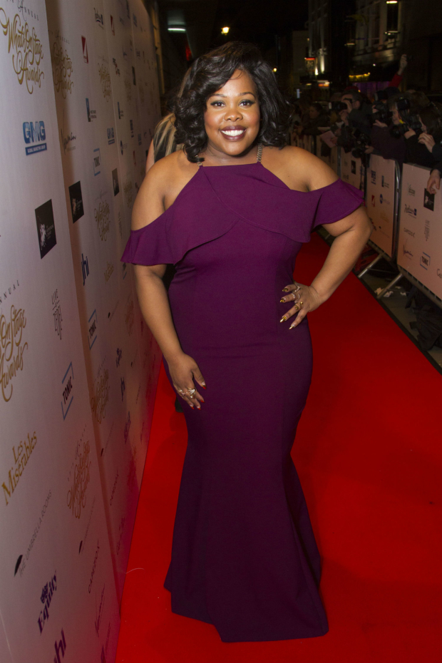 <p>Amber Riley</p><br />© Dan Wooller for WhatsOnStage