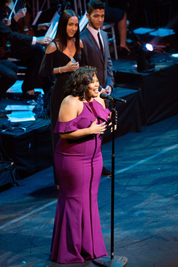 <p>Amber Riley</p><br />© Peter Gibbons