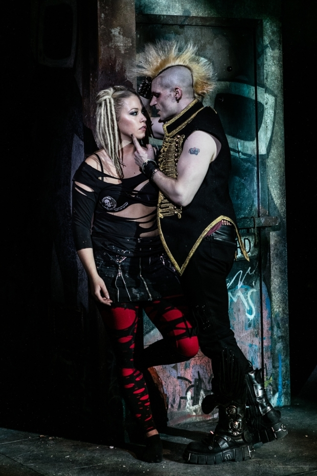 <p>Amelia Lily (Whatsername) and Lucas Rush (St. Jimmy)</p><br />© Darren Bell