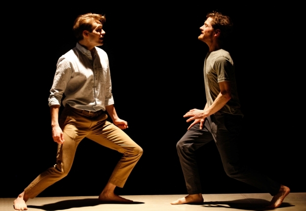 <p>Andrew Burnap and Kyle Soller in <em>The Inheritance</em></p><br />© Simon Annand