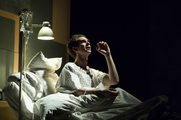 <p>Andrew Garfield (Prior) in <em>Angels in America - Millennium Approaches</em></p><br />(c) Helen Maybanks