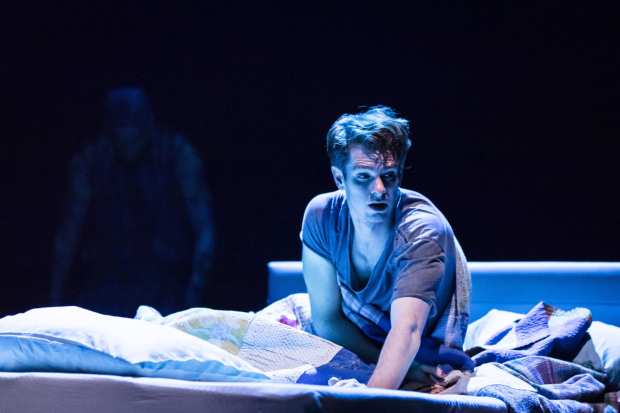 <p>Andrew Garfield (Prior Walter) in <em>Angels In America: Perestroika</em></p><br />©  Helen Maybanks