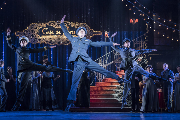 <p>Andrew Monaghan as Harry and the company of <em>Matthew Bourne&#39&#x3B;s Cinderella</em></p><br />© Johan Persson
