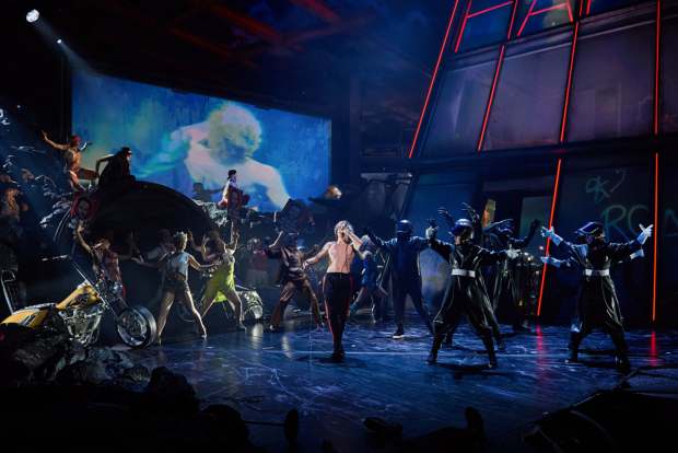<p>Andrew Polec as Strat in <em>Bat Out Of Hell</em></p><br />© Jim Ross