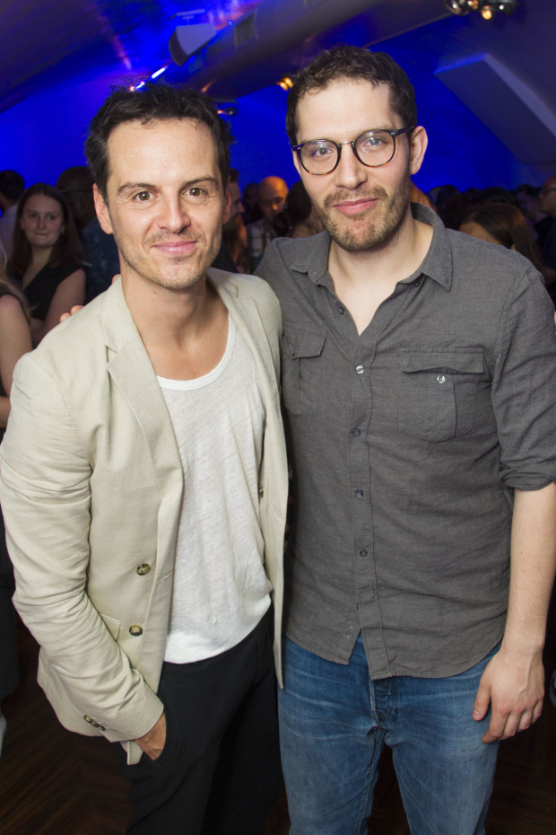 <p>Andrew Scott (Hamlet) and Robert Icke (director)</p><br />© Dan Wooller for WhatsOnStage
