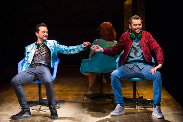 <p>Andrew Scott (Paul) and Alex Price (Johnny)</p><br />© Richard Hubert Smith