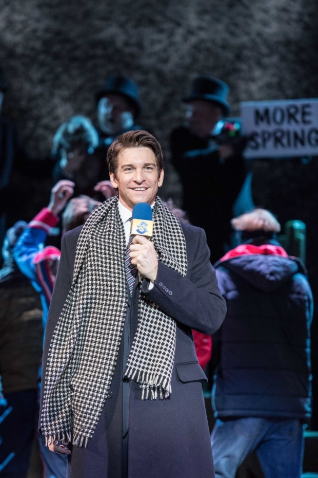 <p>Andy Karl (Phil Connors) in <em>Groundhog Day</em></p><br />© Manuel Harlan