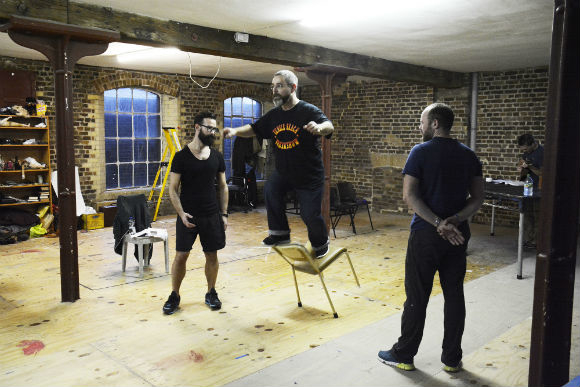 <p>Andy Nyman (Charles Guiteau)</p><br />© Nobby Clark