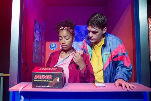 <p>Anna Crichlow (Ruby) and Will Pattle (Dean) </p><br />© Helen Murray