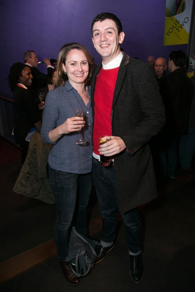 <p>Anna Madeley and John Dagleish</p><br />© Dan Wooller for WhatsOnStage