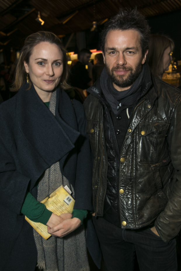 <p>Anna Madeley and Julian Ovenden</p><br />© Dan Wooller for WhatsOnStage